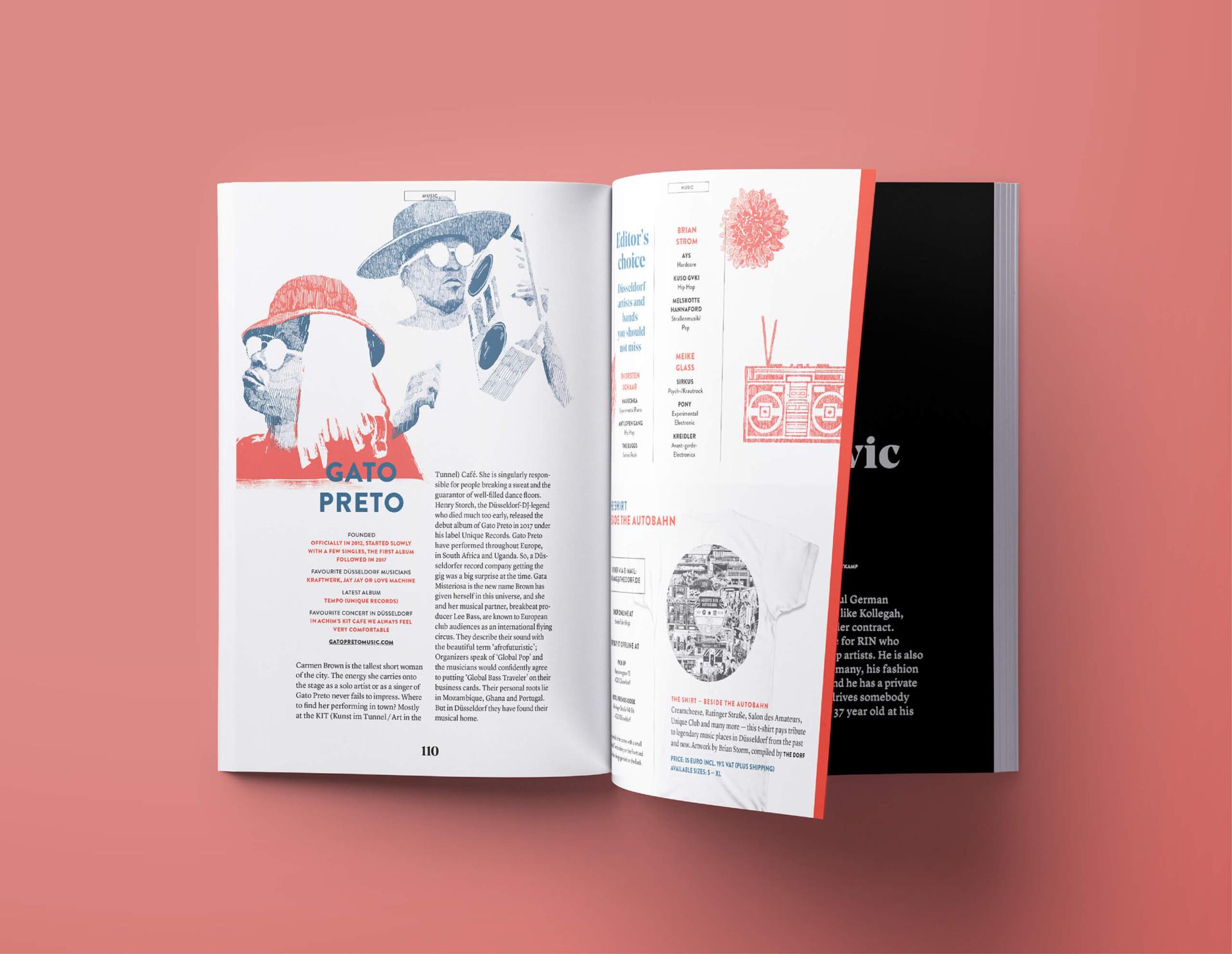 Brian Storm - Illustration & Design The Dorf Magazine Illustrations