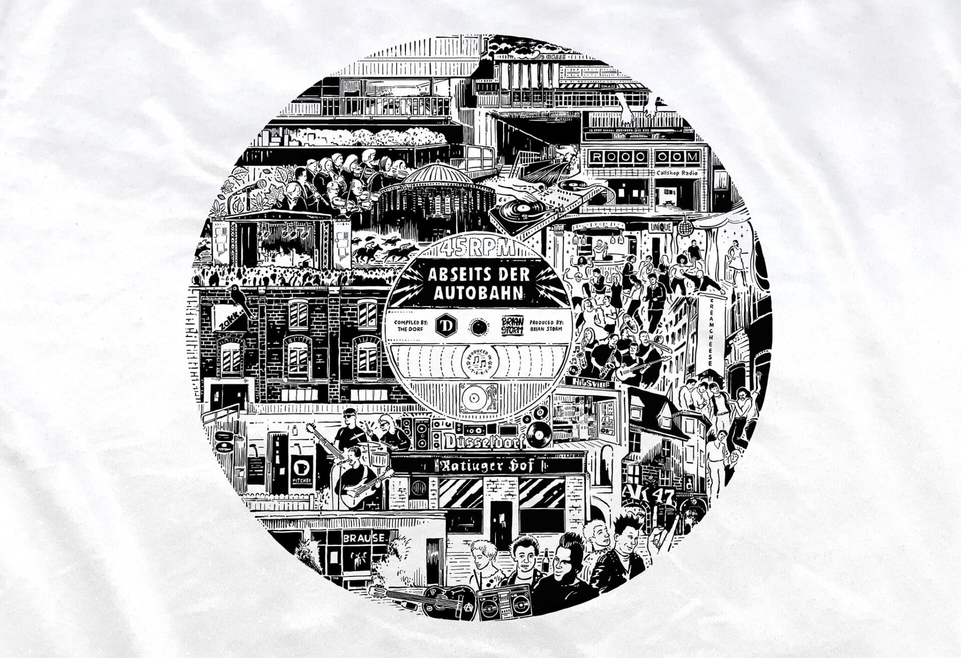 Brian Storm - Illustration & Design The Dorf T-Shirt
